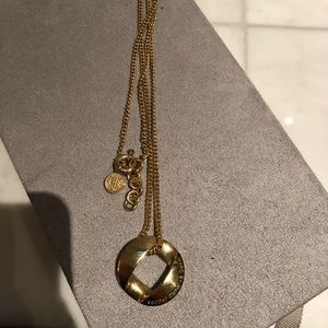 Marc by Marc Jacobs gold pendant necklace